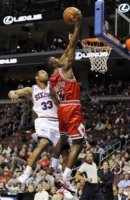 Bulls 76ers Basketball